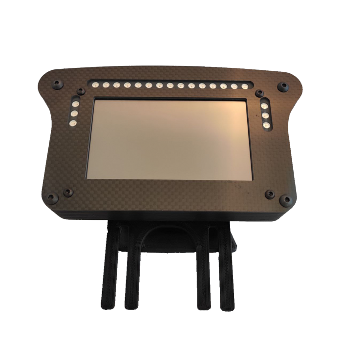 "Display 4,3"" + 21 Leds standalone"