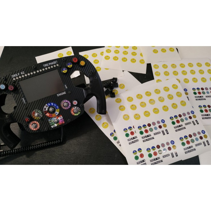 Kit Sticker ITR SW F1